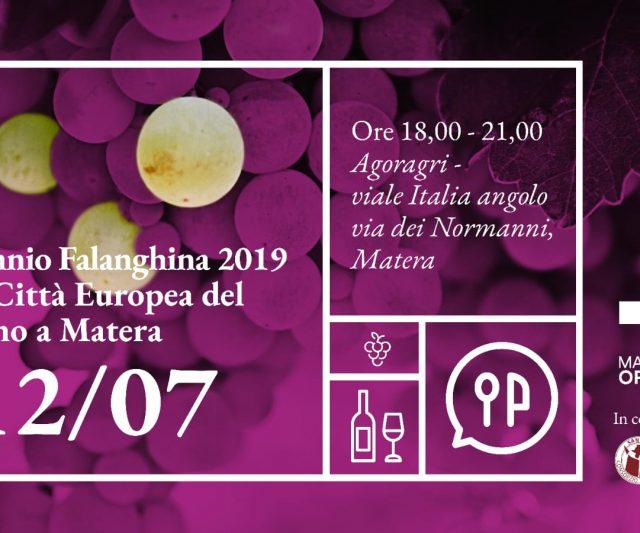 Matera 2019 celebra il binomio vino e cultura