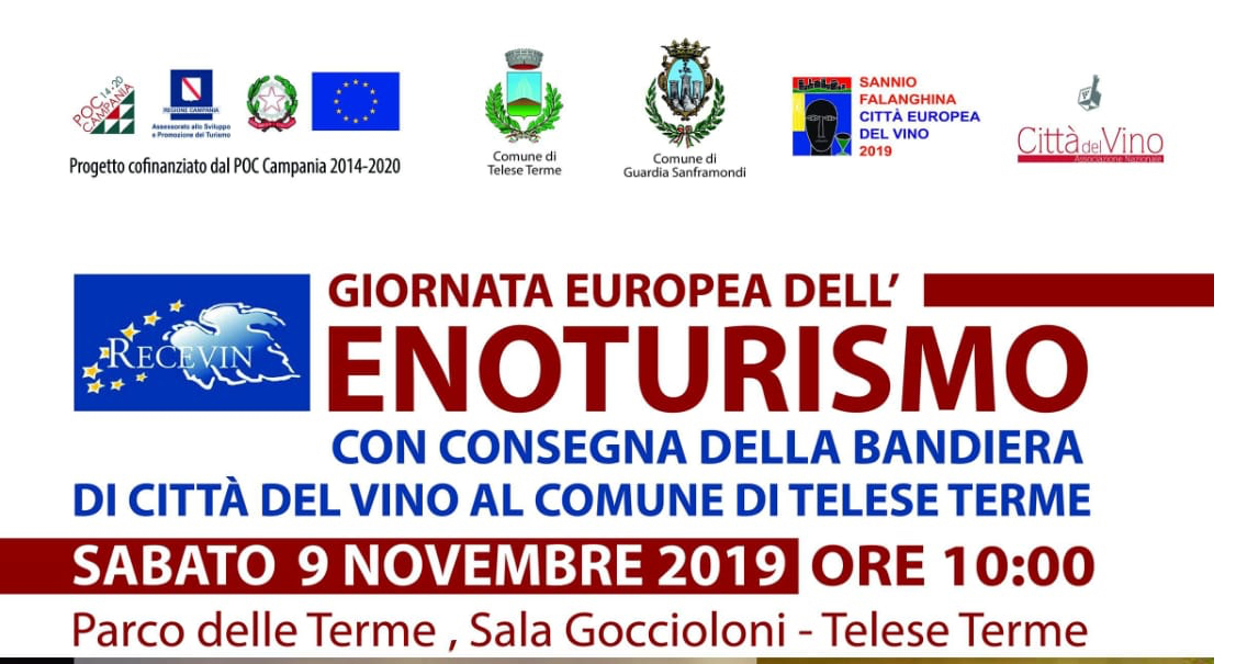 Sannio Falanghina, giornata dell'enoturismo nella capitale europea del vino 2019.